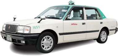 名鉄タクシーの車輌