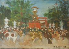 「津島神社社頭」