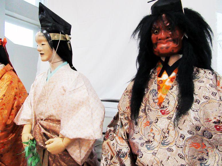 企画展示「天王祭能人形展」