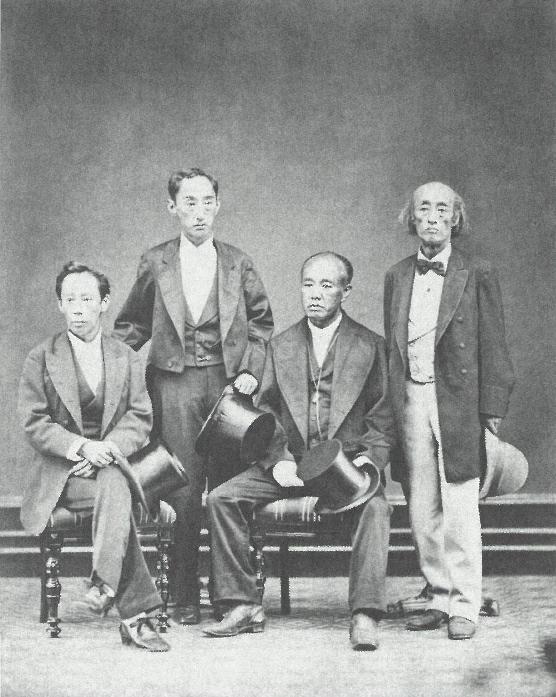 高須四兄弟肖像写真