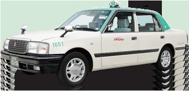 「名鉄タクシー」の車両