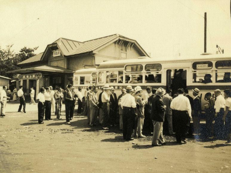 津島駅と名鉄バス