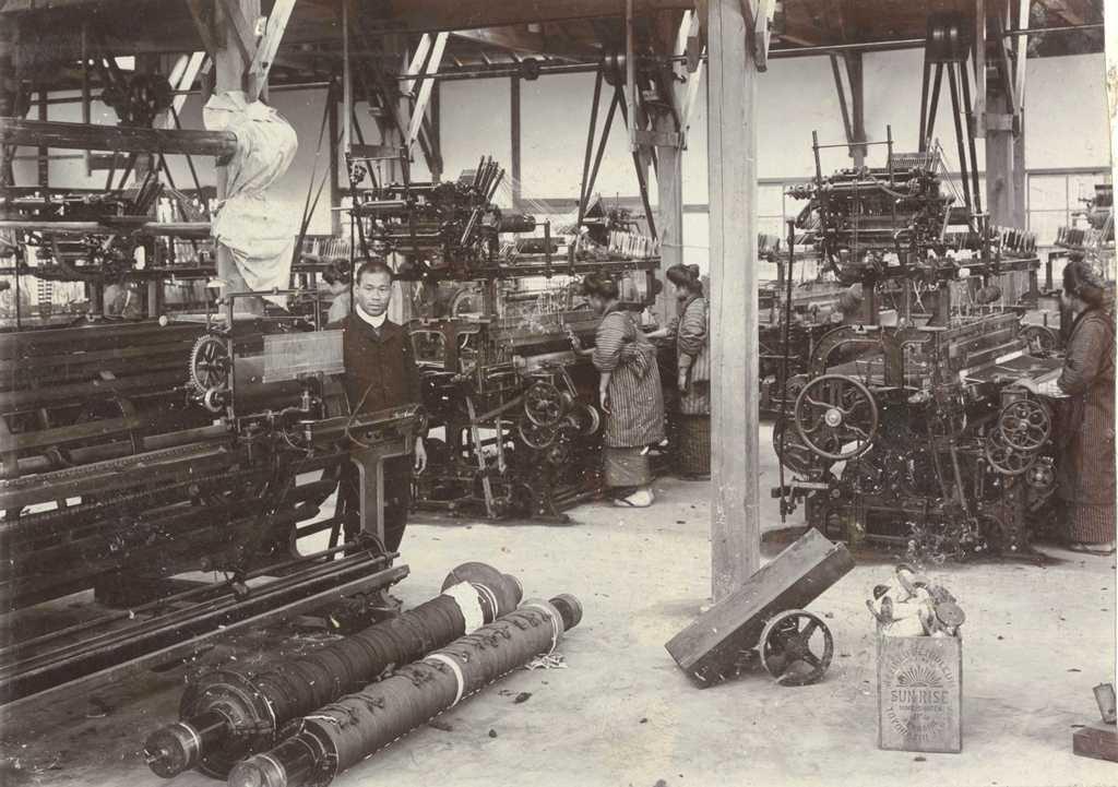 毛織物業 片岡毛織工場1 片岡町