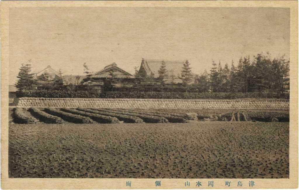 双葉幼稚園の歴史写真 清光院を東に望む