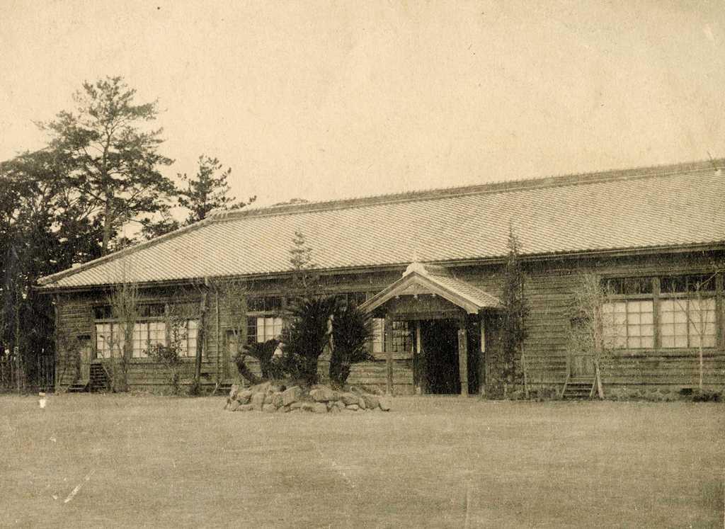 蛭間小学校の歴史写真 蛭間尋常小学校の校舎
