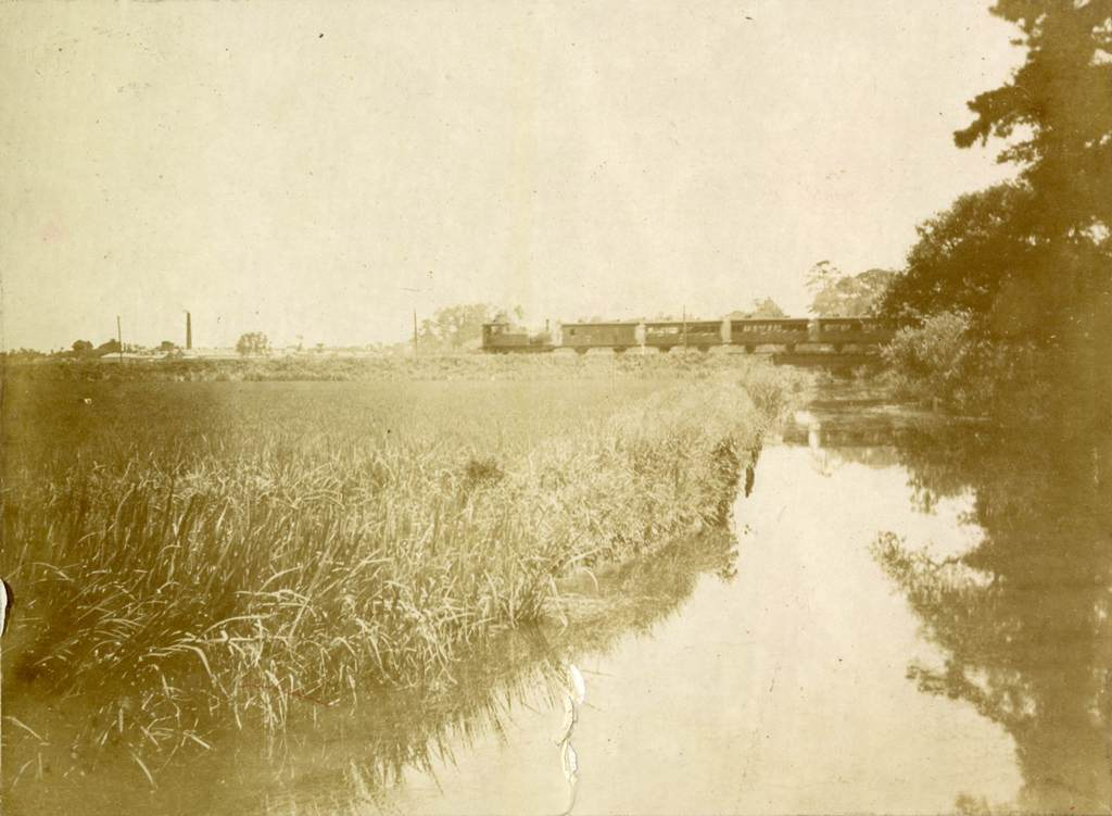 鉄道の風景 尾西鉄道 兼平付近
