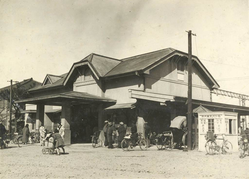鉄道の風景 名古屋鉄道津島駅