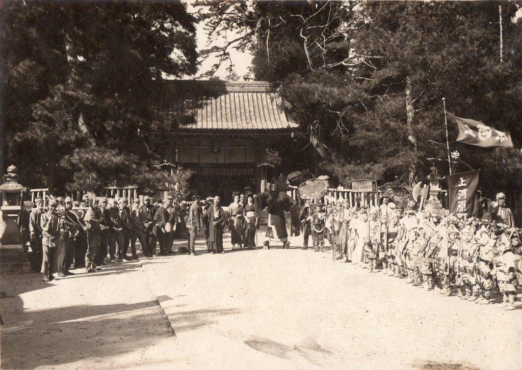 津島の風景 祭の風景 鬼祭